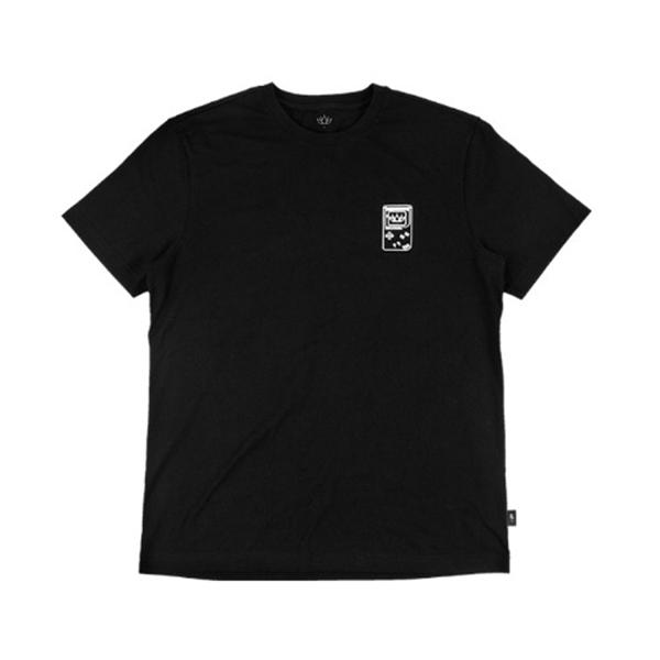 [LILKA] 블랙 심플 티셔츠