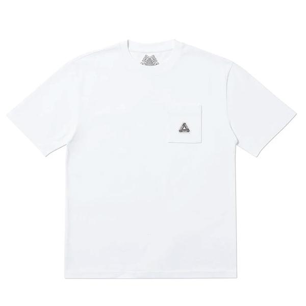 [해외]팔라스 소파 포켓 반팔 티셔츠 화이트