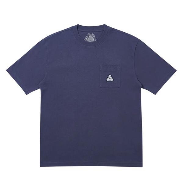 [해외]팔라스 소파 포켓 반팔 티셔츠 네이비