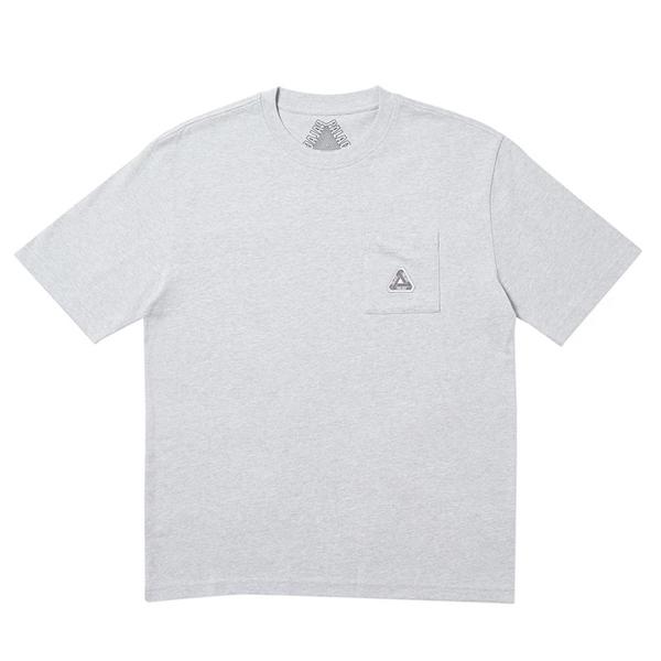 [해외]팔라스 소파 포켓 반팔 티셔츠 그레이
