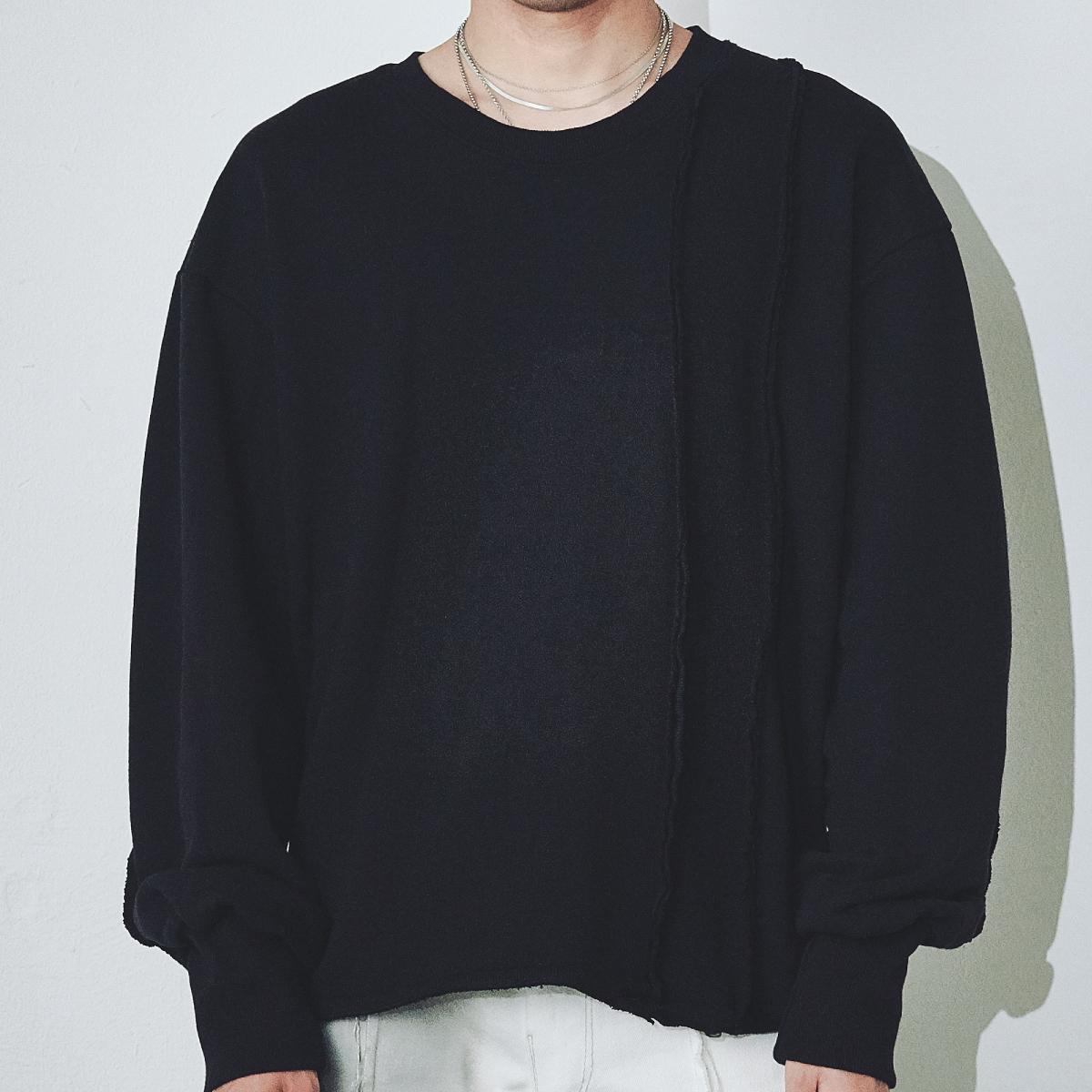 [단독할인]리벌스드맨투맨(블랙)