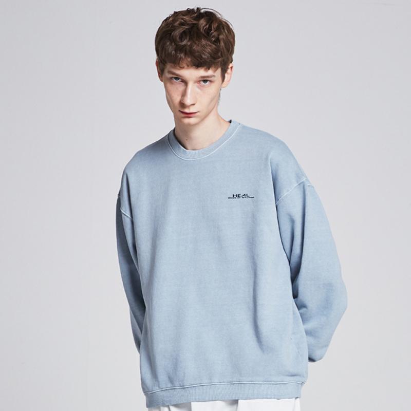 [단독할인][unisex] tie dye mtm (sky blue)