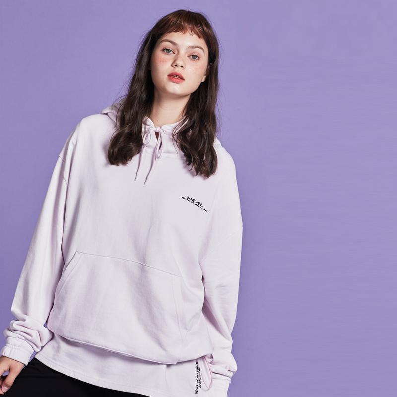 [단독할인][unisex] layered hoody (lavender)