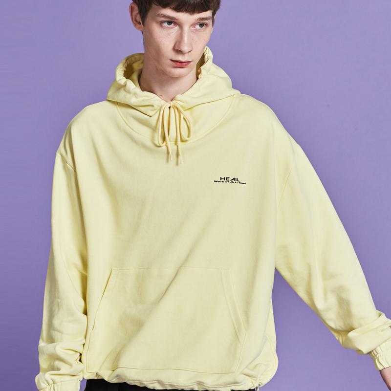 [단독할인][[unisex] layered hoody (yellow)