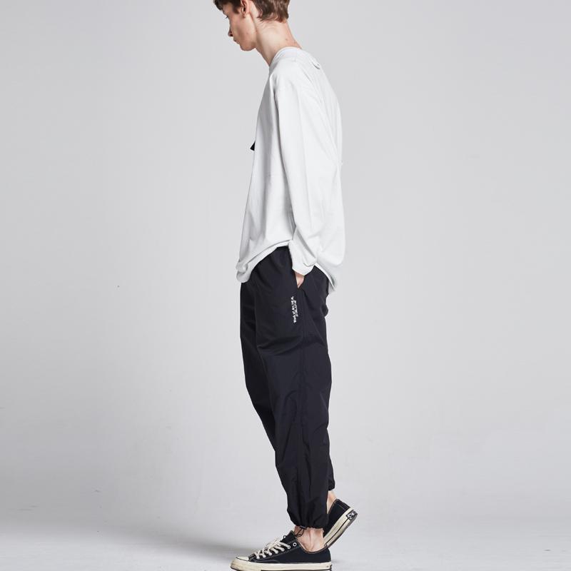 [단독할인][unisex] ripstop string jogger  pants (black)