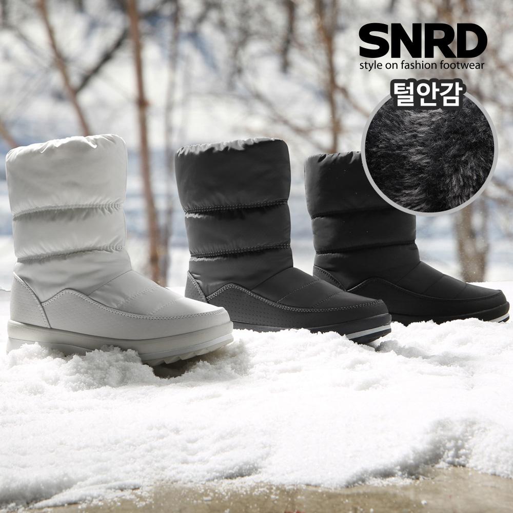 [SNRD] 겨울신발 패딩부츠 털부츠 방한화 여성부츠 롱부츠 키높이 SN512