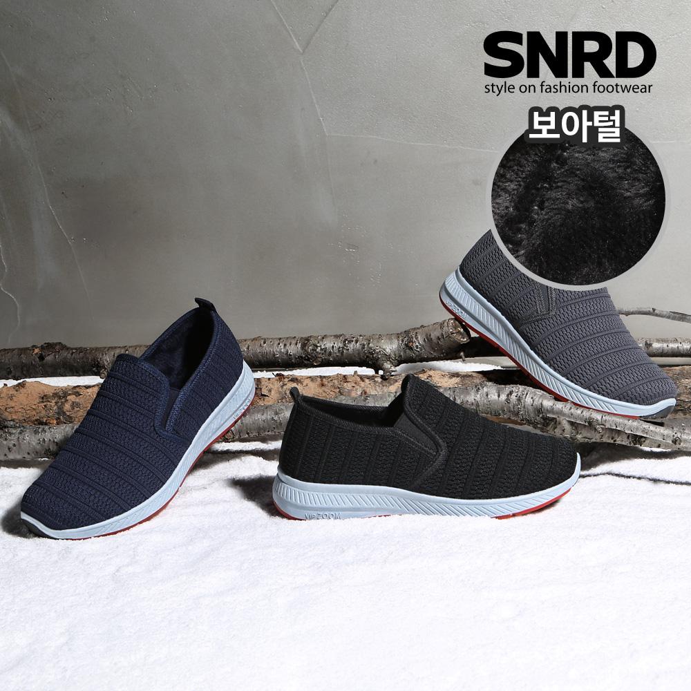 [SNRD] 패딩슬립온 겨울신발 방한화 털신 스니커즈 털운동화 SN516