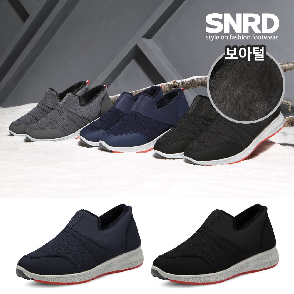 [SNRD] 패딩슬립온 겨울신발 방한화 털신발 스니커즈 운동화 털슬립온 SN514