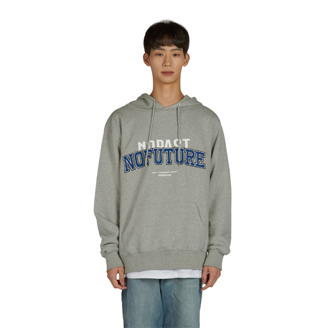 Arch Logo Hoodie - Gray