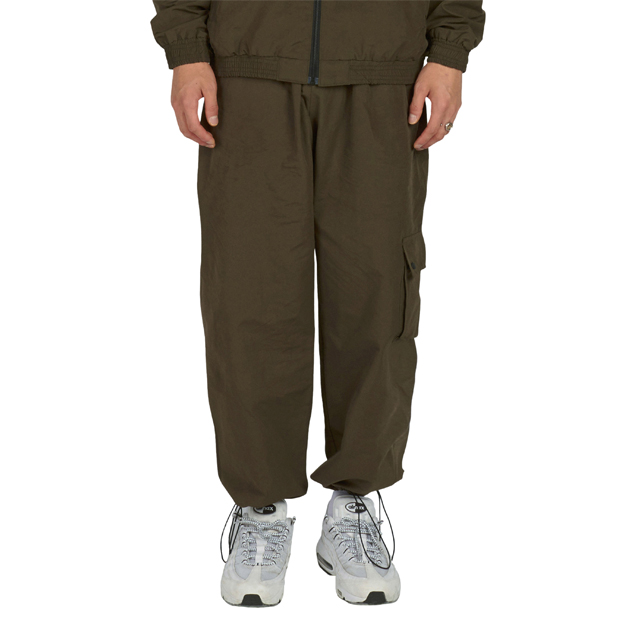 Point Pocket Cargo Pants - Khaki