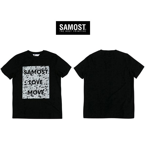 [단독할인]samost 프린팅 로고 티셔츠