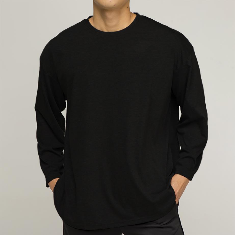 OR 라벨 티셔츠 [black]