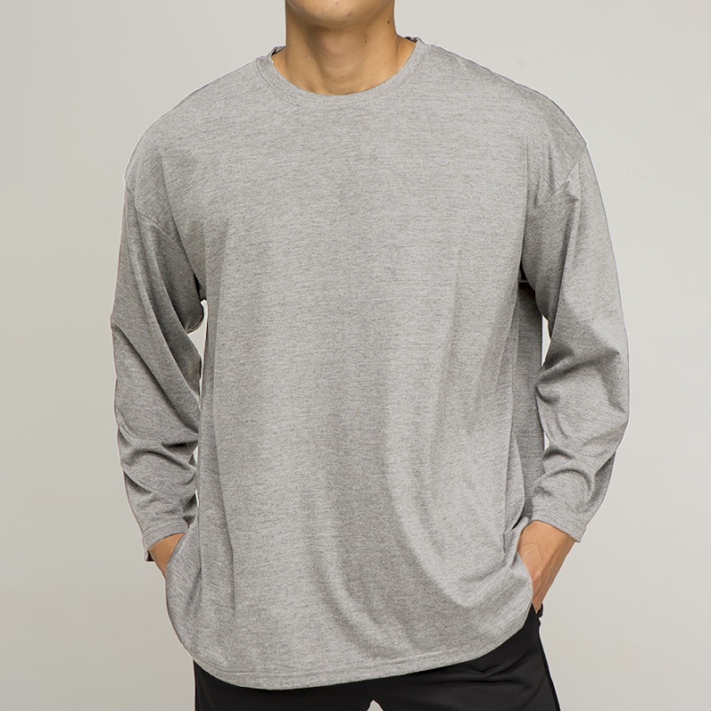 OR 라벨 티셔츠 [light gray]