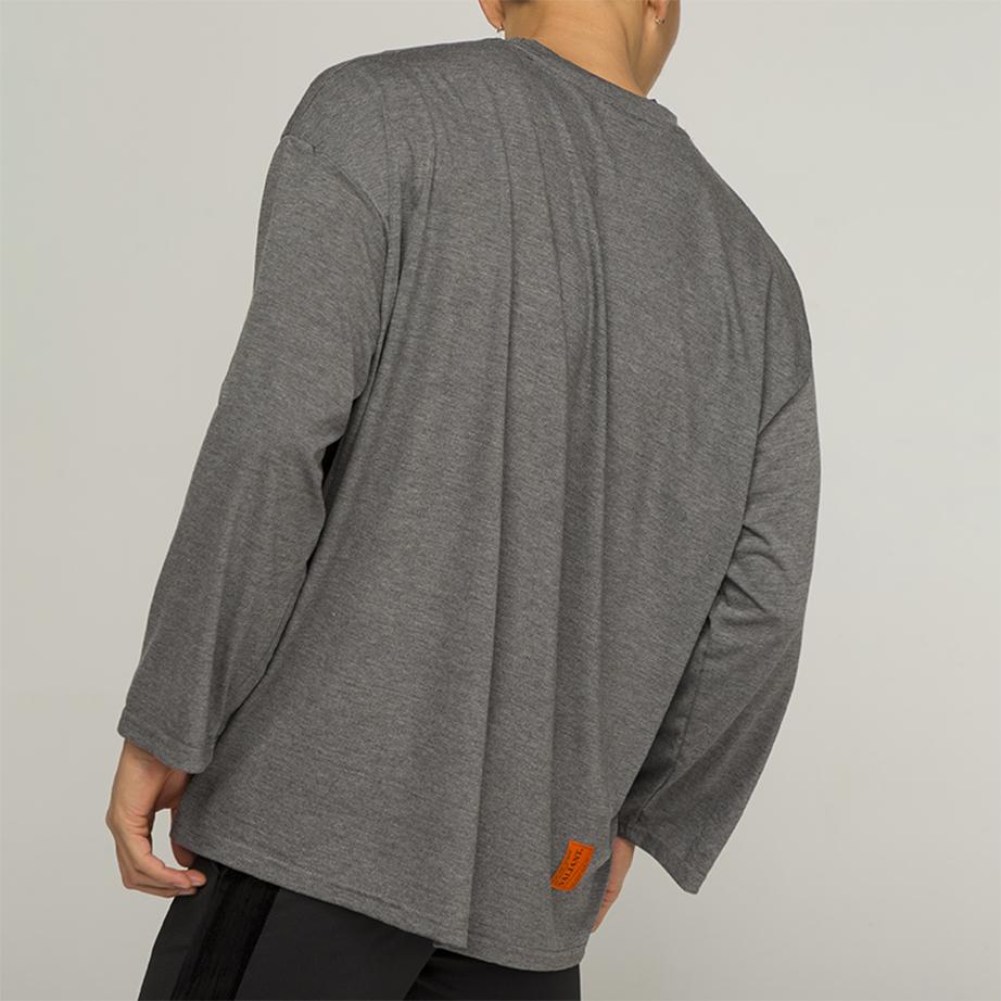 OR 라벨 티셔츠 [dark gray]