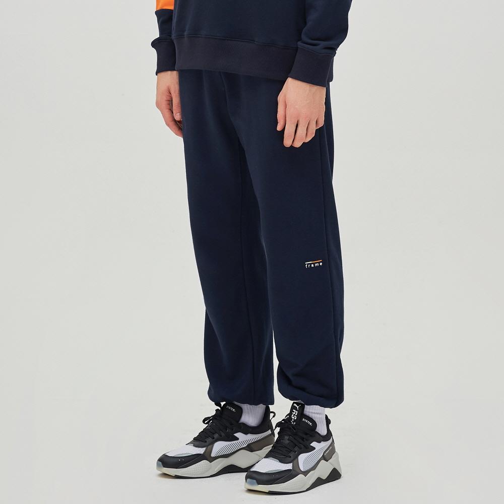 SNUG SWEAT PANTS (NAVY)
