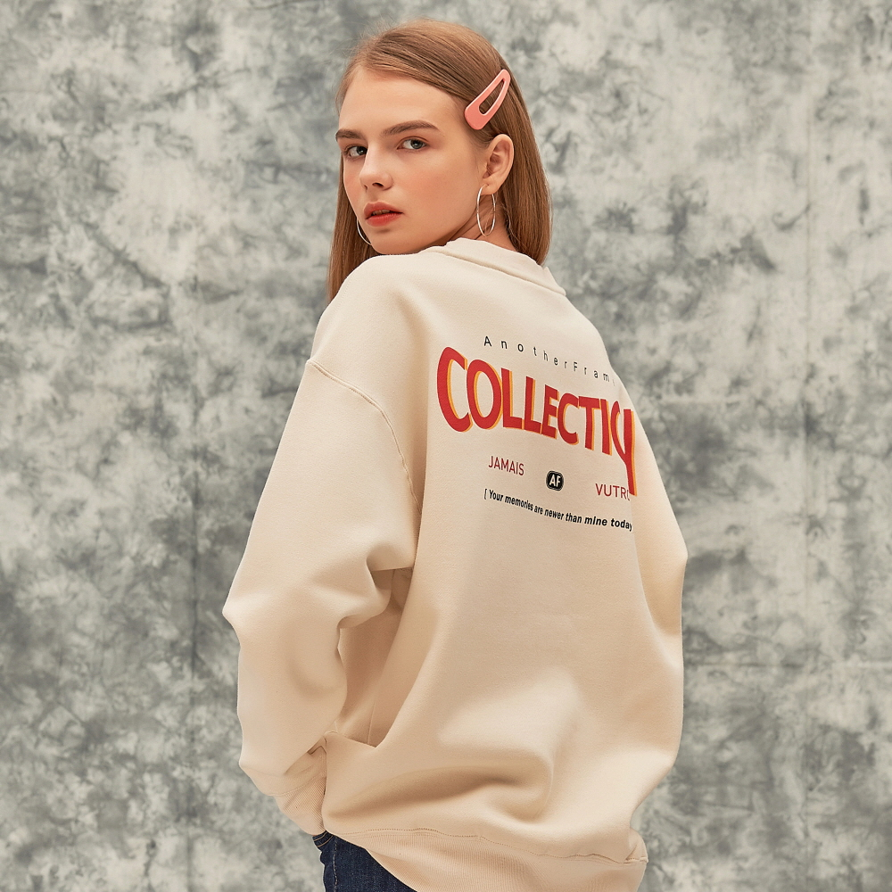 RE-COLLECTION CREWNECK (IVORY)