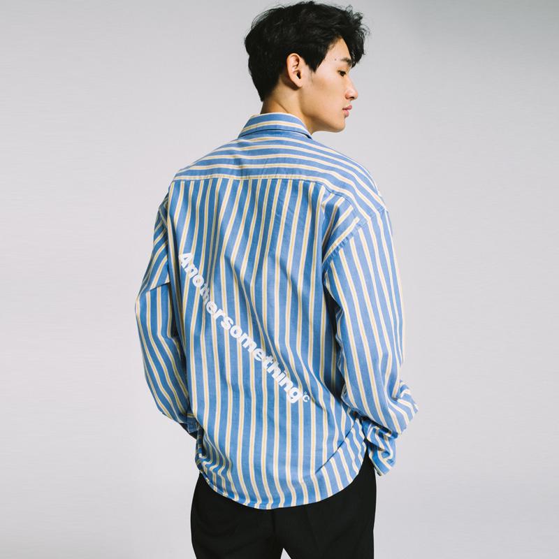 basic oversize oblique logo shirt