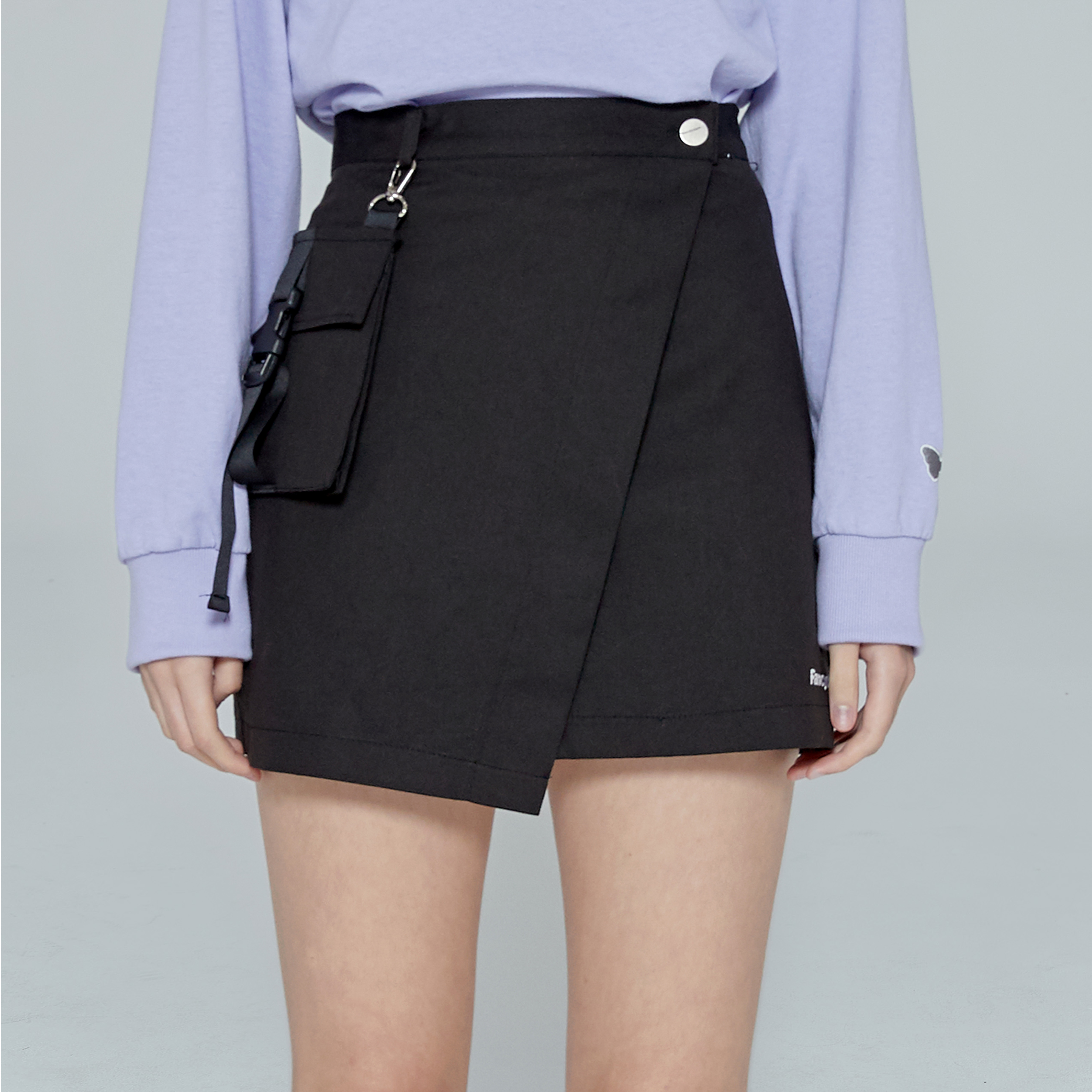 [NF] FANCY LAB POCKET MINI SKIRT (BLK)(19FW-F702)