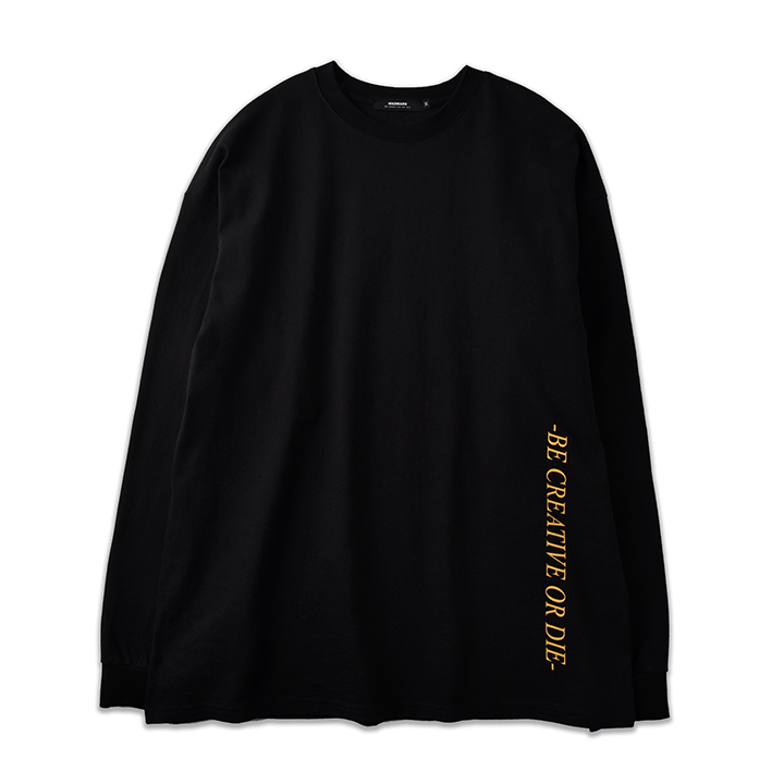TIMES LONG SLEEVE_BLACK
