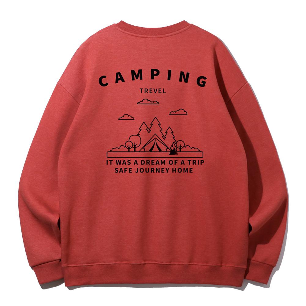 [앨빈클로]MAR-694 캠핑 오버핏 맨투맨