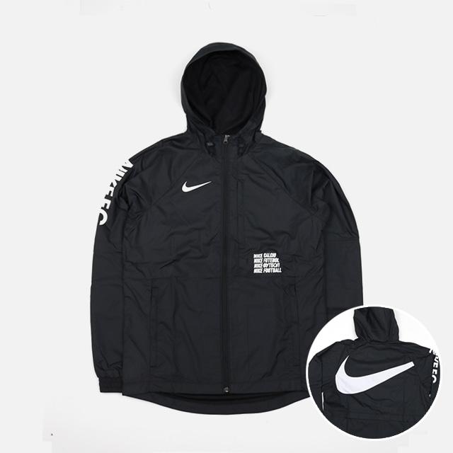 [국내배송]나이키 FC 바람막이 자켓 블랙