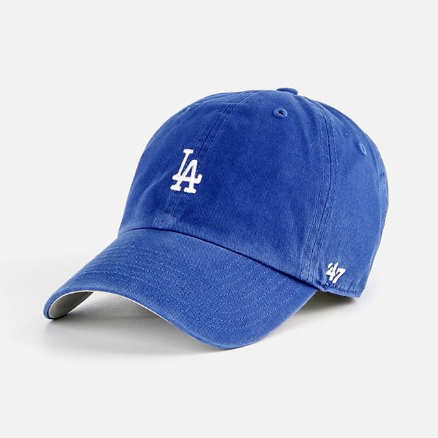 [국내배송]47브랜드 LA 볼캡 모자 파랑
