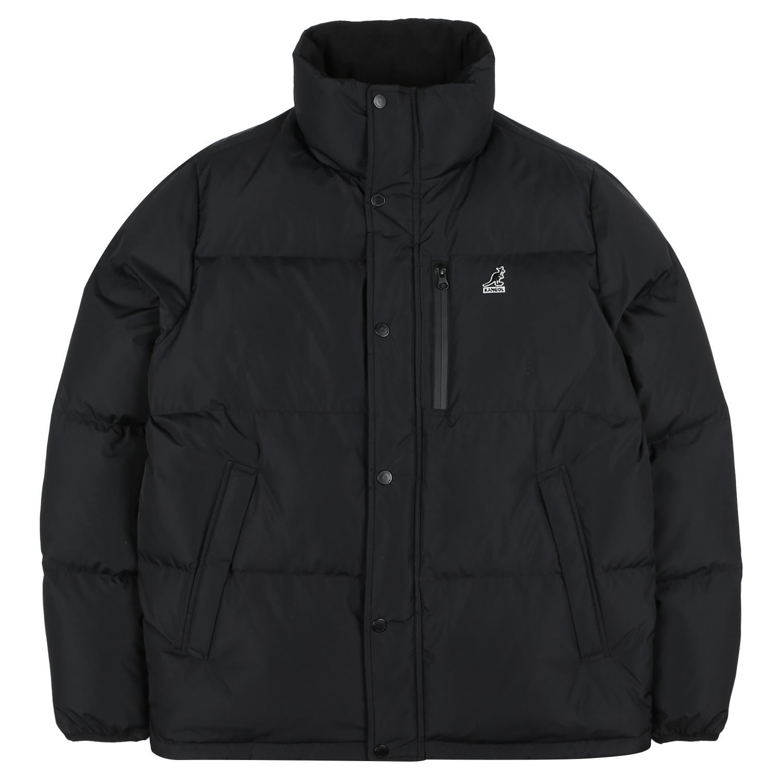 basic puffer short-down 9547 BLACK