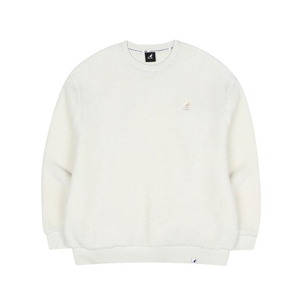 Faux shearling Sweatshirt 1624 IVORY