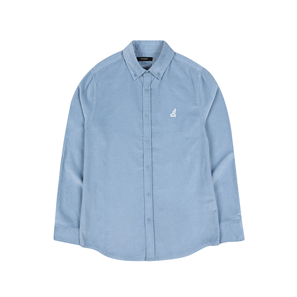 Club Corduroy Shirt 7035 LT.BLUE