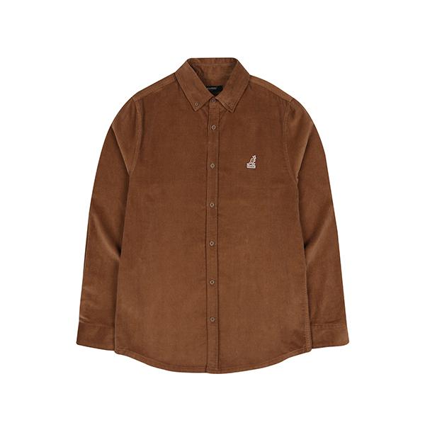Club Corduroy Shirt 7035 BROWN