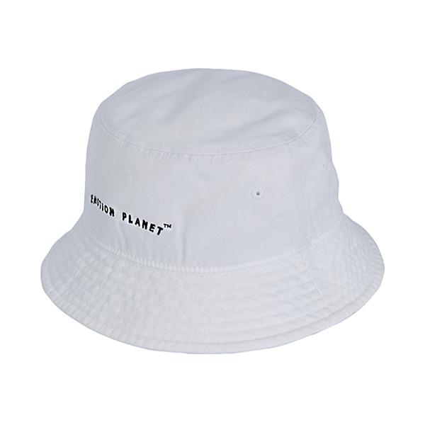로고 버킷햇 WHITE