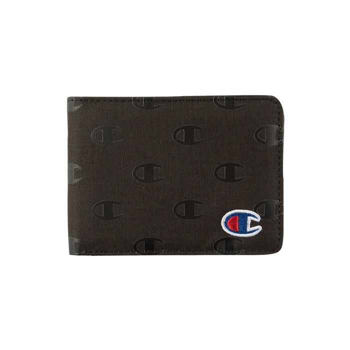 [국내]챔피온 라임 바이폴드 지갑 블랙 / CH3001-001