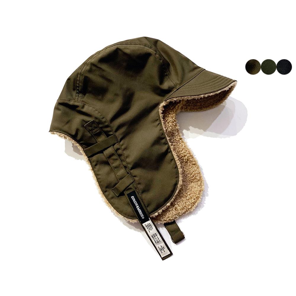 오버사이즈 리버시블 트루퍼햇 oversize reversible trooper hat(3color)
