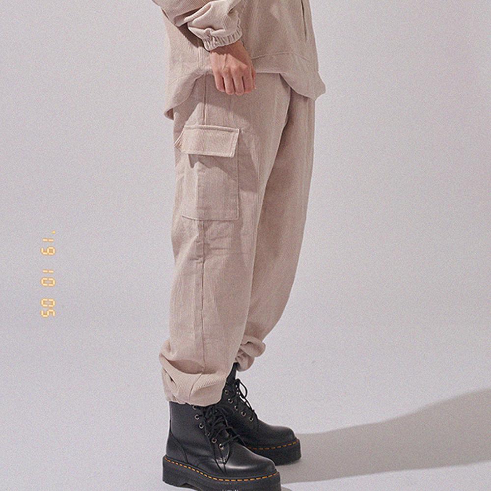 코듀로이 카고 스트링 팬츠 CORDUROY CARGO STRING PANTS(4color)