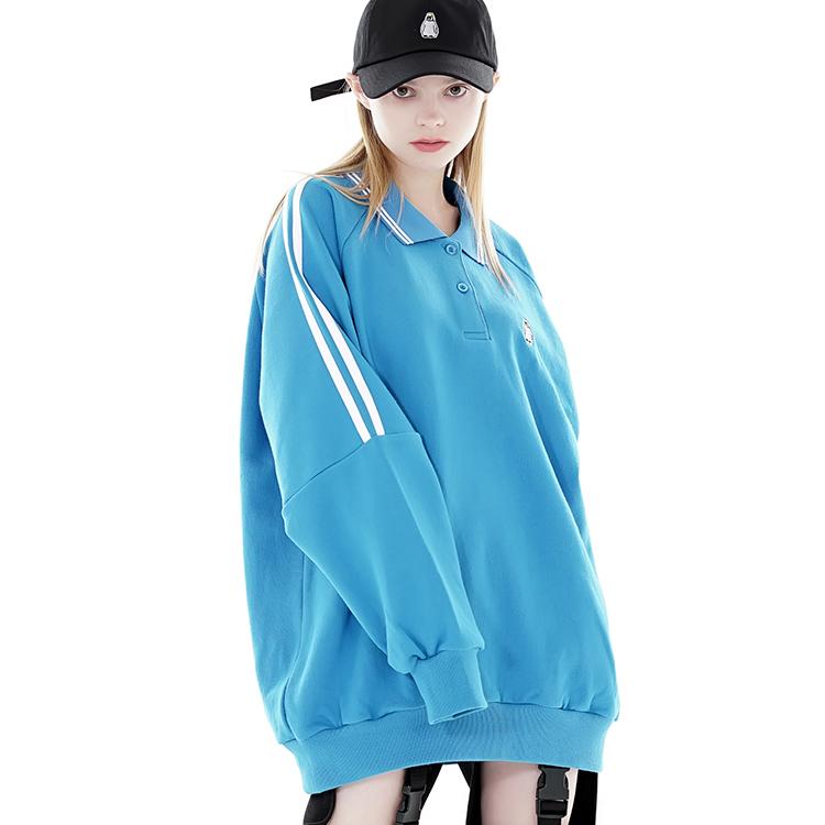 카라 스웨트셔츠 3컬러