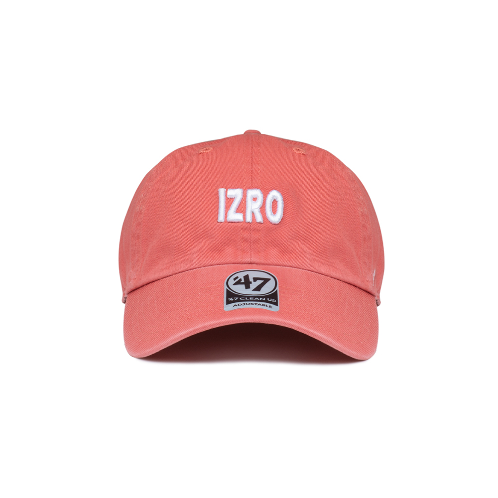 IZRO X 47BRAND CAP - ISLAND RED
