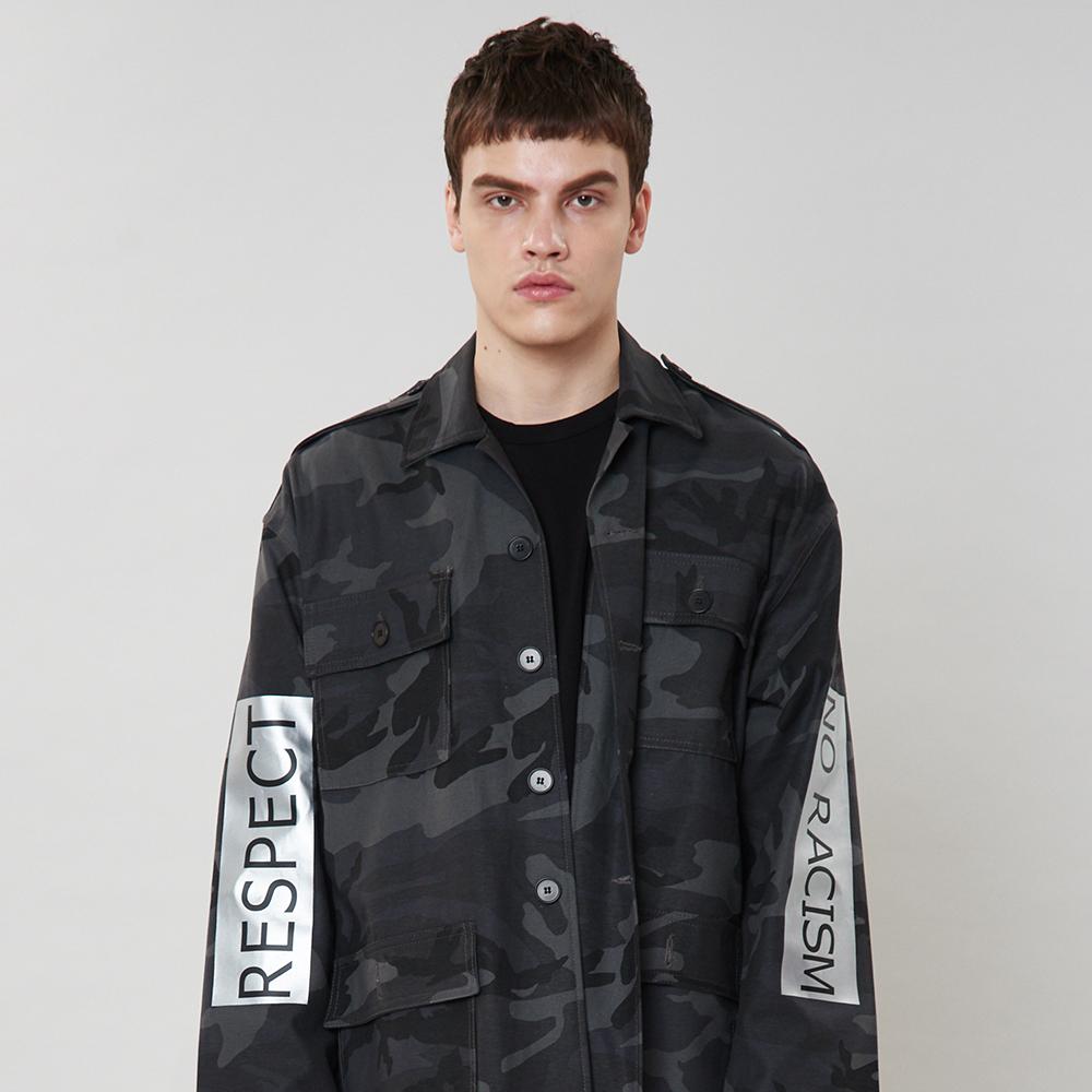 [입점특가]블랙 밀리터리 자켓
