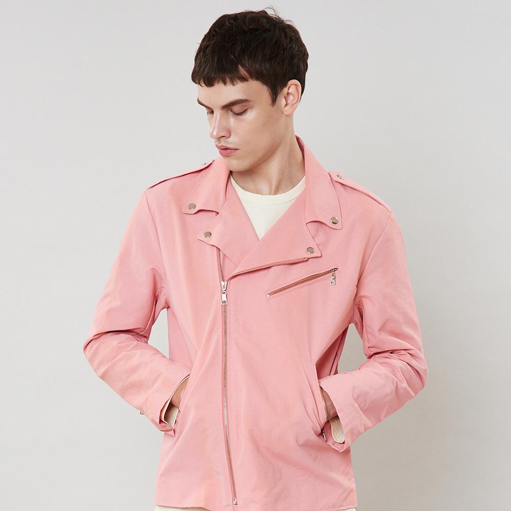 [입점특가]핑크 라이더 자켓