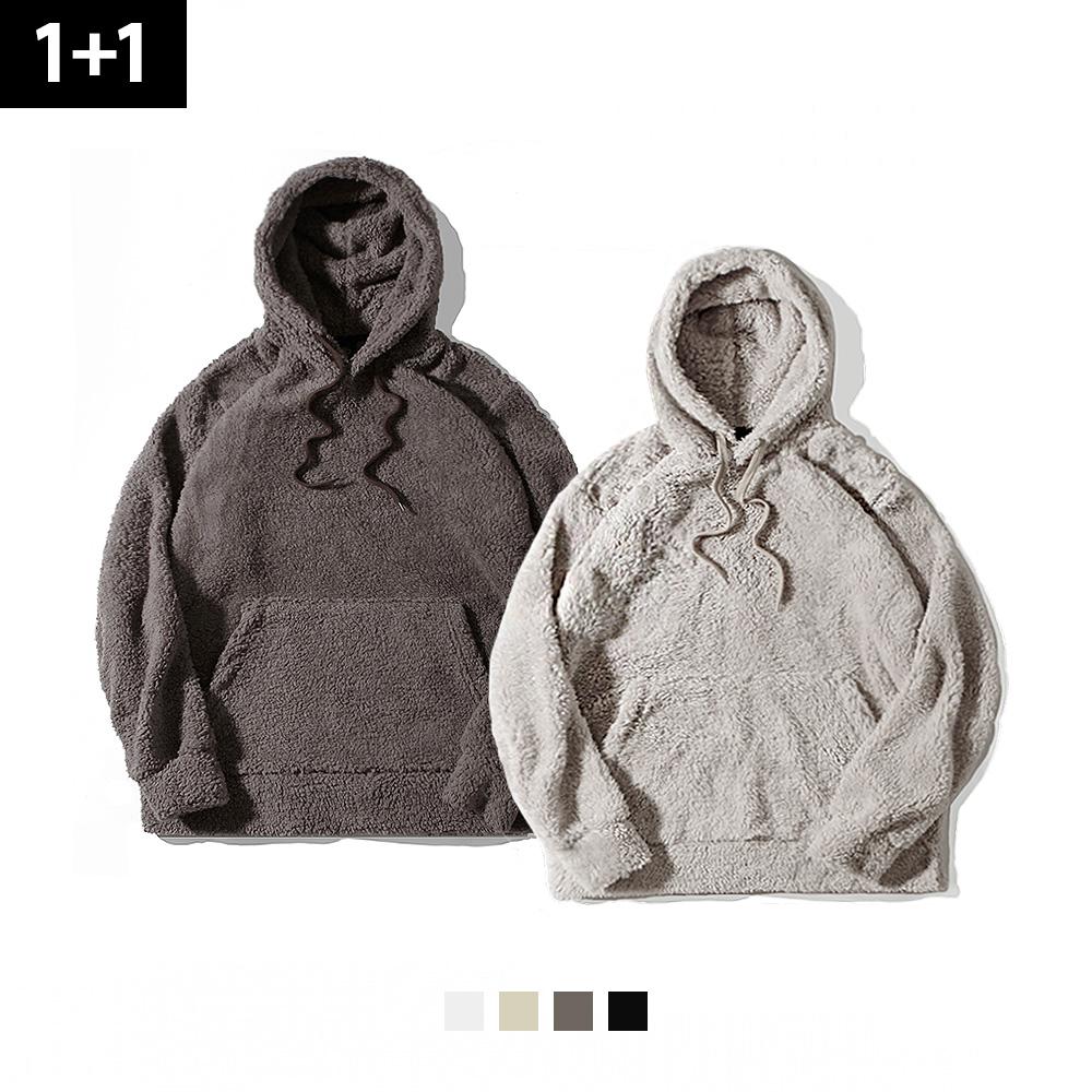 [단독특가][1+1][로로팝] 양털 후드티