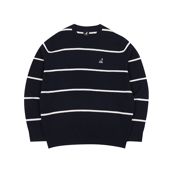 [한정특가]Stripe Sweater 1808 NAVY