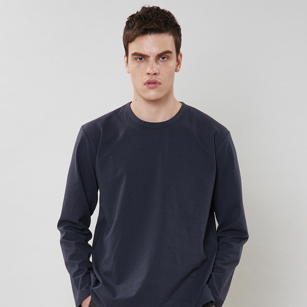 [입점특가]그레이 사이드라인 포인트 티셔츠