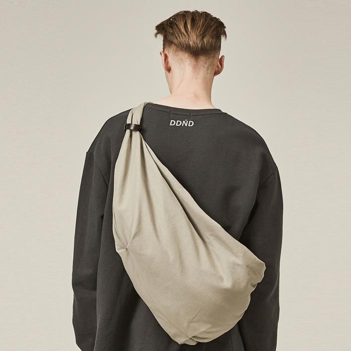 [데드엔드] GRAY BUNDLE STRAP BAG