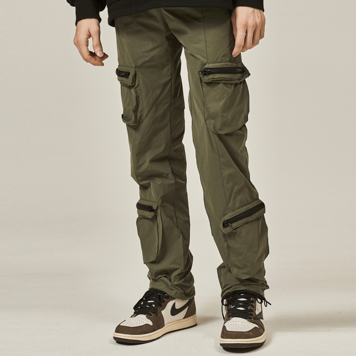 [데드엔드] KHAKI 4 POCKET CARGO STRING PANTS