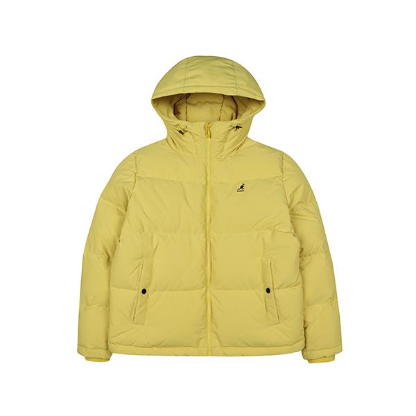 [한정수량]Hooded short-down 9548 YELLOW