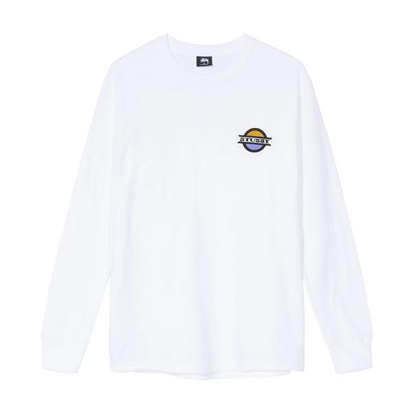 스투시 버스 스탑 롱슬리브 티셔츠 화이트