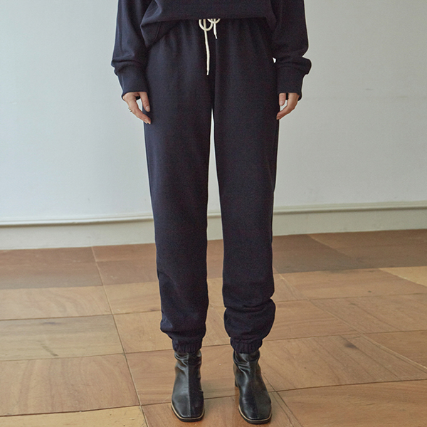 [DEANS] [11/4] EASY SWEAT JOGGER PANTS_NAVY
