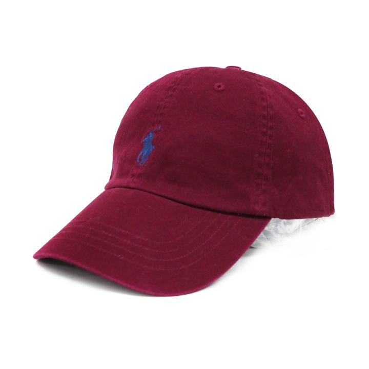 [국내]폴로랄프로렌 볼캡 모자 710716734 019 버건디(네이비)