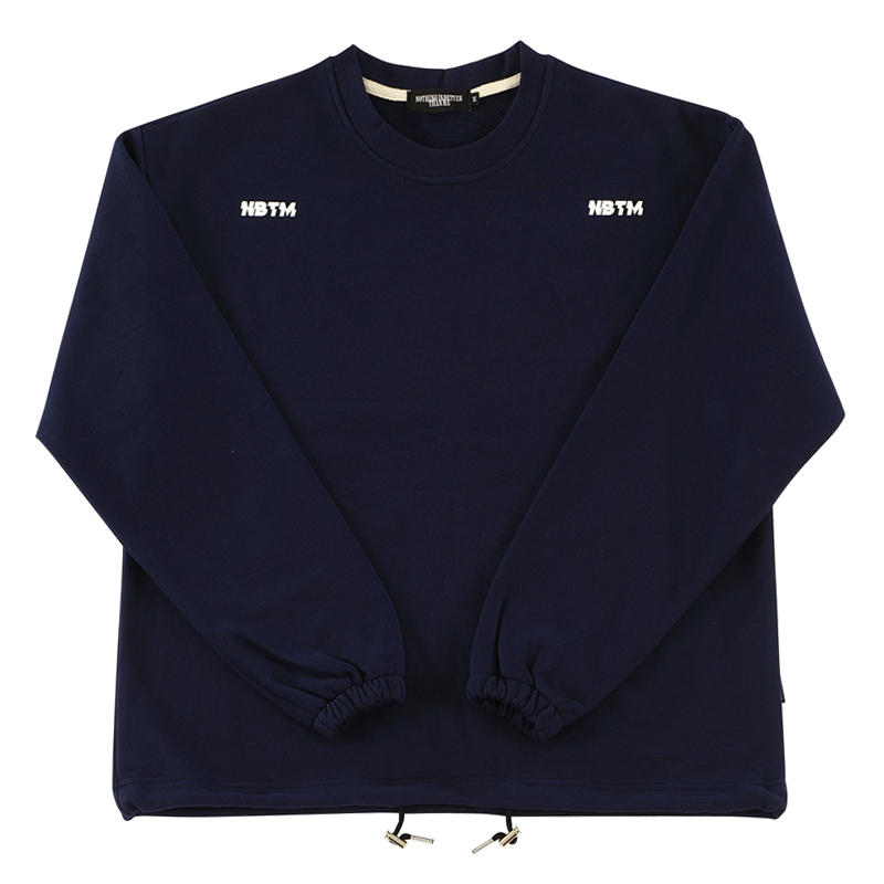 DOUBLE LOGO SWEATSHIRTS_navy