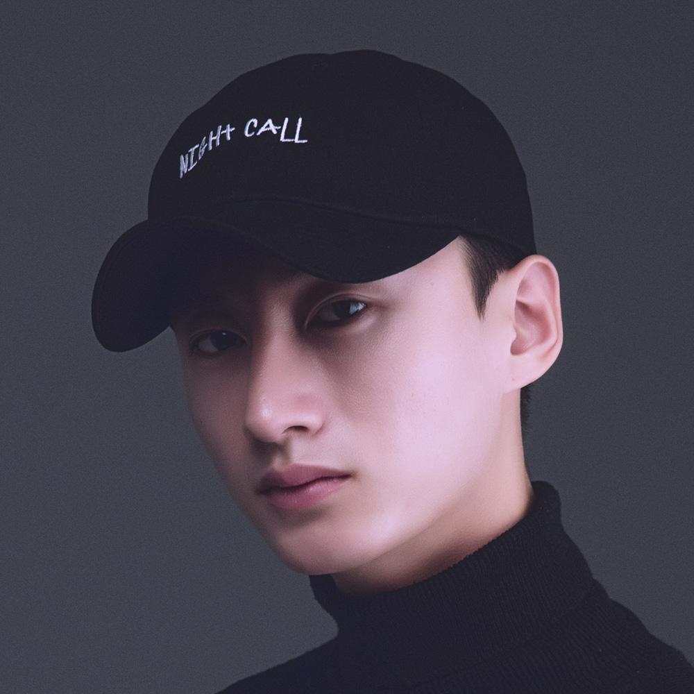 NIGHTCALL BALLCAP - Black