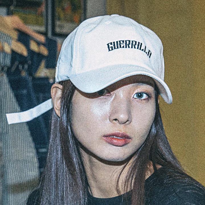 GUERRILLA BALL CAP - WHITE